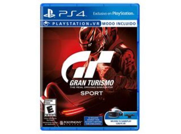 Oferta de Juego PS4 Gran Turismo Sport por $16990