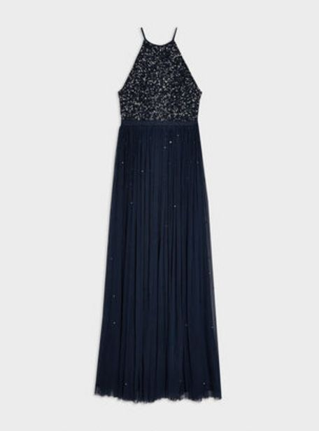 Oferta de Vestido Navy High Neck Miss Selfridge por $41990