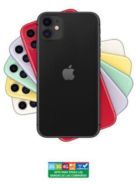 Oferta de IPhone 11 64GB Black Liberado por $629990