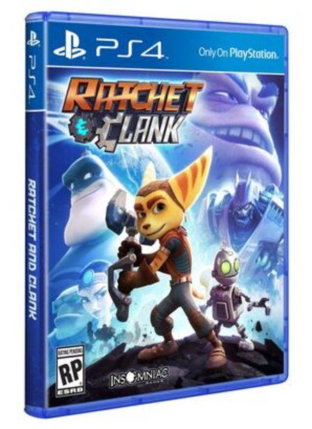 Oferta de Juego PS4 Ratchet y Clank por $15990