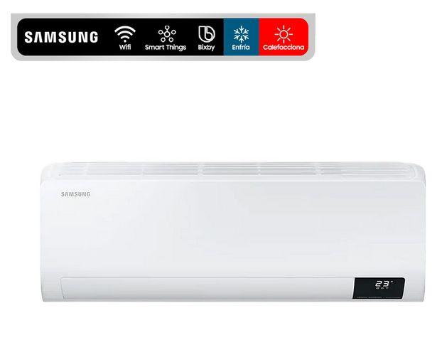 Ofertas de Aire acondicionado split 12000 BTU frío/calor AR12TSFZAWKZS Samsung                                                             por $499990