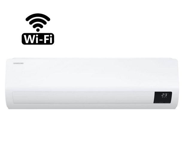 Ofertas de Aire acondicionado split 18000 BTU frío/calor AR18TSFZAWKZS Samsung                                                             por $599990