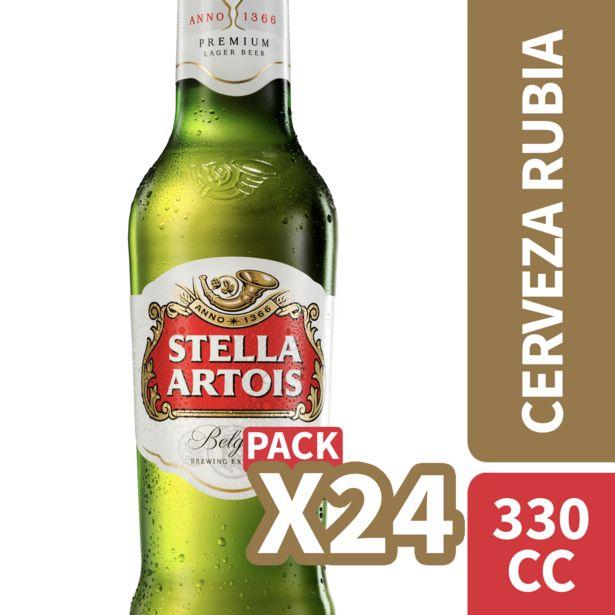Oferta de Pack cerveza 24 un. 330 cc c/u por $11990