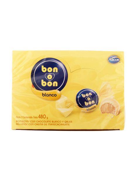 Oferta de Bon o Bon Chocolate Blanco Arcor 480 g por $3199