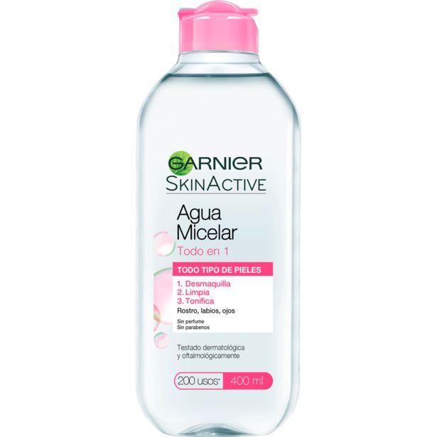 Oferta de Agua Micelar 400 ml Skin Active por $3992