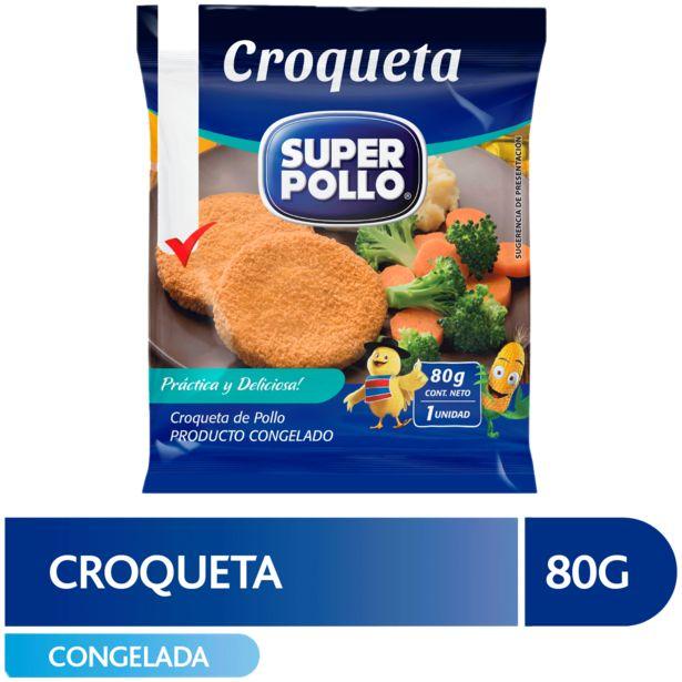 Oferta de Croqueta de Pollo Super Pollo 1 unidad 80 g por $299