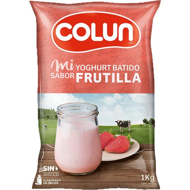 Oferta de Yoghurt batido frutilla 1 kg por $1200