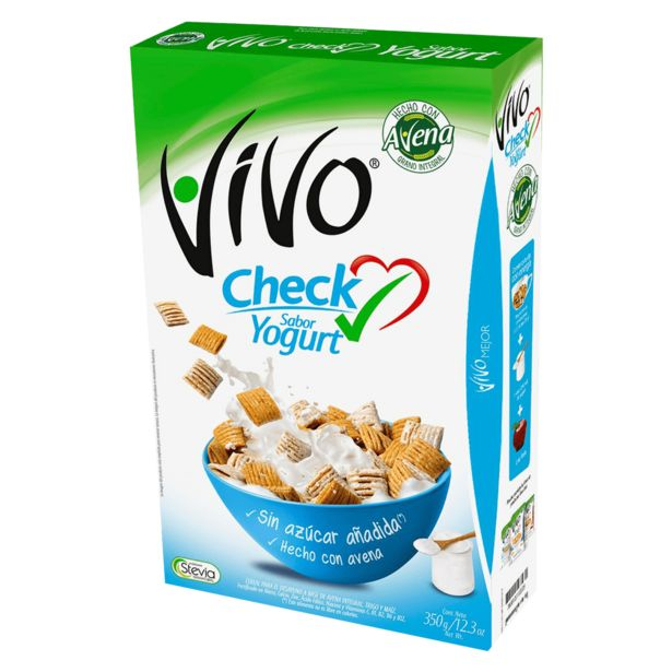 Oferta de Cereal Vivo 350 g, Check Yogurt por $1799