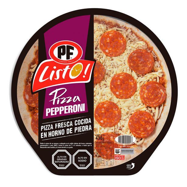 Oferta de Pizza listo pepperoni 430 g por $2990