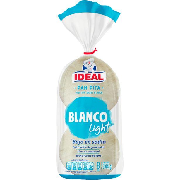 Ofertas de Pan pita blanco light 8 un. 300 g por $1329