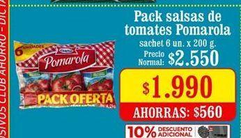 Oferta de Salsa de tomate Pomarola por $1990