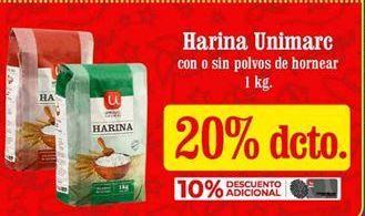 Oferta de Harina Unimarc por