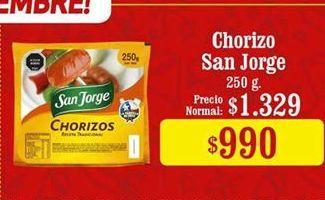 Oferta de Chorizo San Jorge por $990
