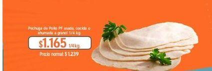 Oferta de Pechuga de pollo PF por $1165
