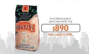 Oferta de Arroz Mantul por $890
