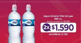 Oferta de Agua Vital por $1590