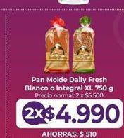 Oferta de Pan de molde Daily por $4990