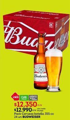 Oferta de Cervezas Budweiser por $12350