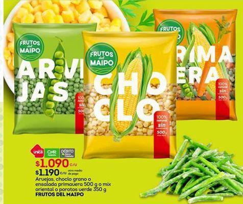 Oferta de Legumbres Frutos del Maipo por $1090