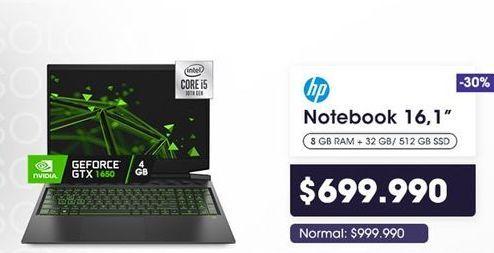 Oferta de Notebook HP por $699990