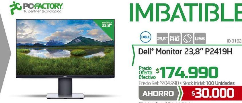 Oferta de Monitor Dell por $174990