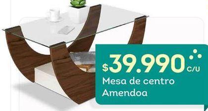 Oferta de Mesa de centro Amendoa por $39990