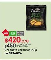 Oferta de Croquetas La Crianza por $420