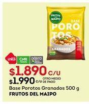 Oferta de Base porotos Frutos del Maipo por $1890