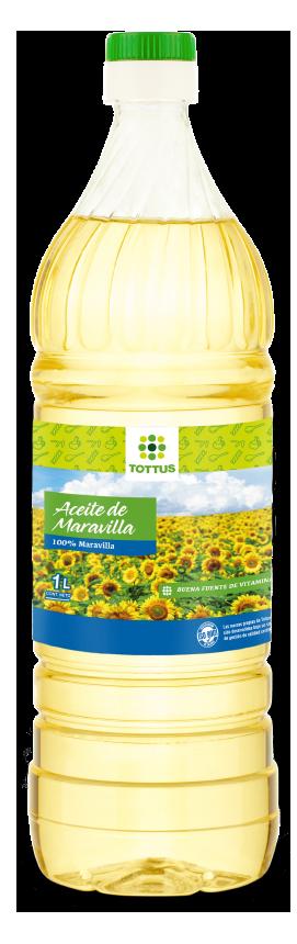 Oferta de Aceite 100% maravilla 1 litro  por $1290