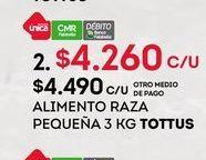 Oferta de Comida para perros Tottus por $4260