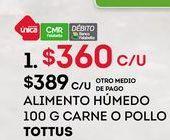 Oferta de Comida para perros Tottus por $360