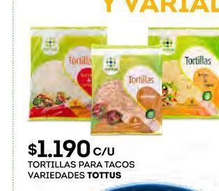 Oferta de Tortilla Tottus por $1190