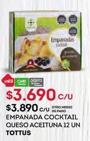 Oferta de Empanada Tottus por $3690