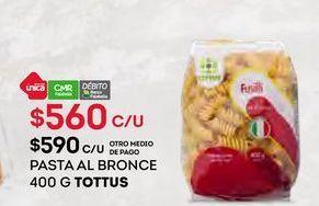 Oferta de Pasta Tottus por $560