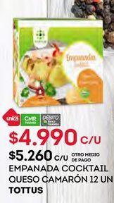 Oferta de Empanada Tottus por $4990