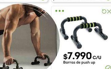 Oferta de Barras de push up por $7990