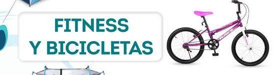 Oferta de Fitness y bicicletas por