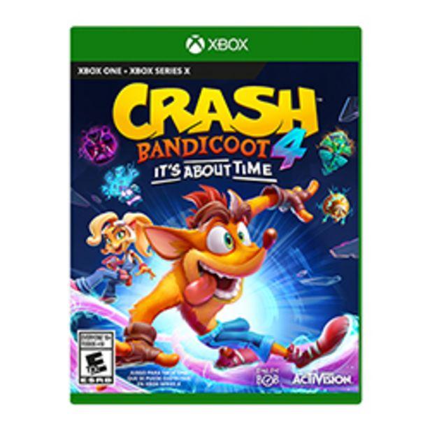 Oferta de Juego Xbox One Crash Bandicoot 4 Its About Time por $64990