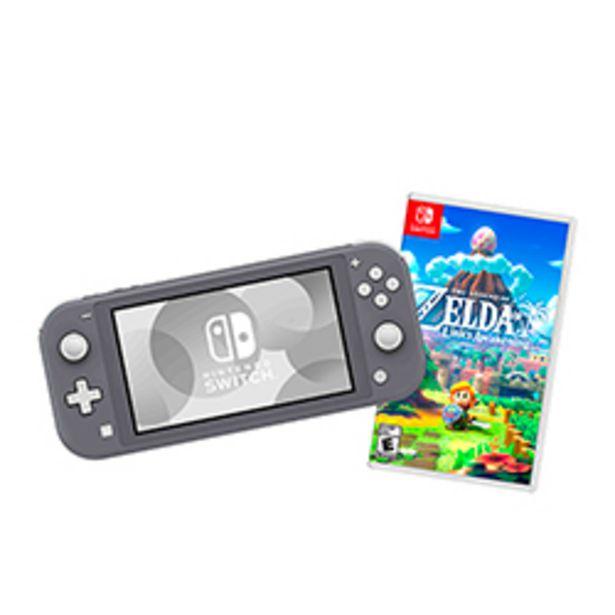 Oferta de Bundle Nintendo Switch Lite 32GB Gris + Juego Nintendo ... por $279990