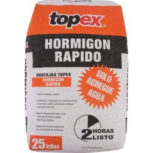 Ofertas de Topex hormigón rápido 25 kg por $4990