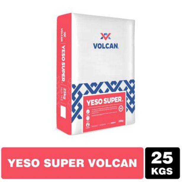 Ofertas de Yeso Súper Volcán saco 25 kg por $4390