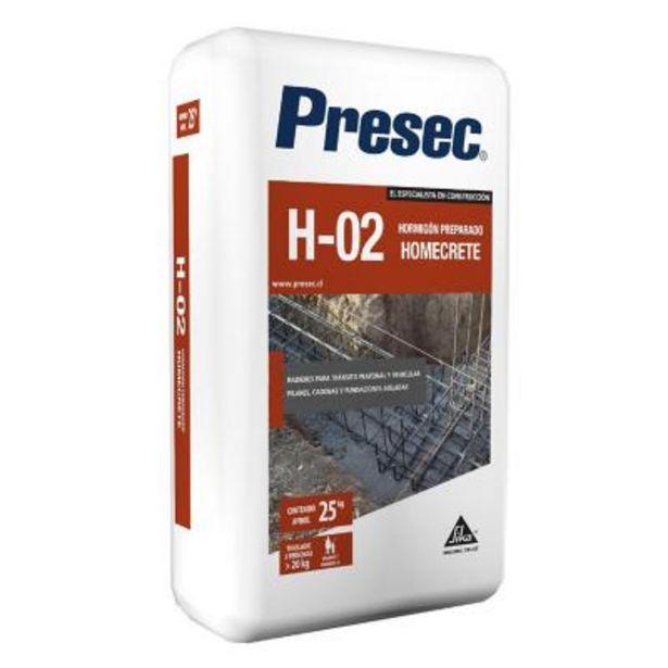 Ofertas de Hormigón preparado H-02 Homecrete 25 kg por $2890