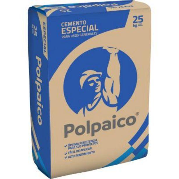 Ofertas de Cemento Polpaico 25 kilos por $4220