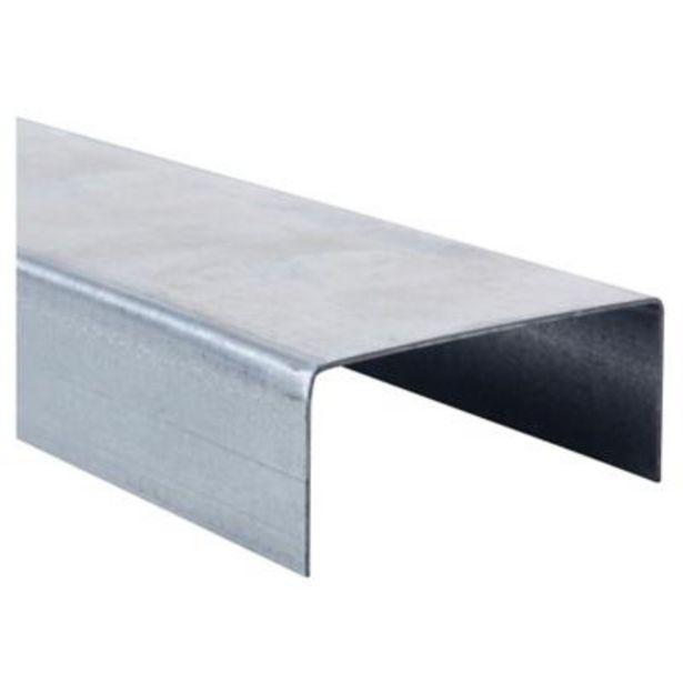 Oferta de 3m Perfil U 2x3x0,85 Metalcon estructural por $2190
