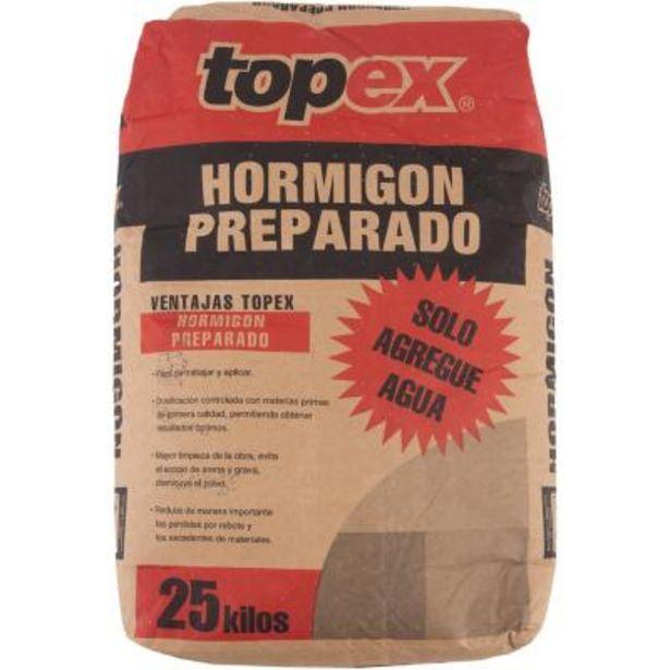 Ofertas de Topex hormigón 25 kg por $2690