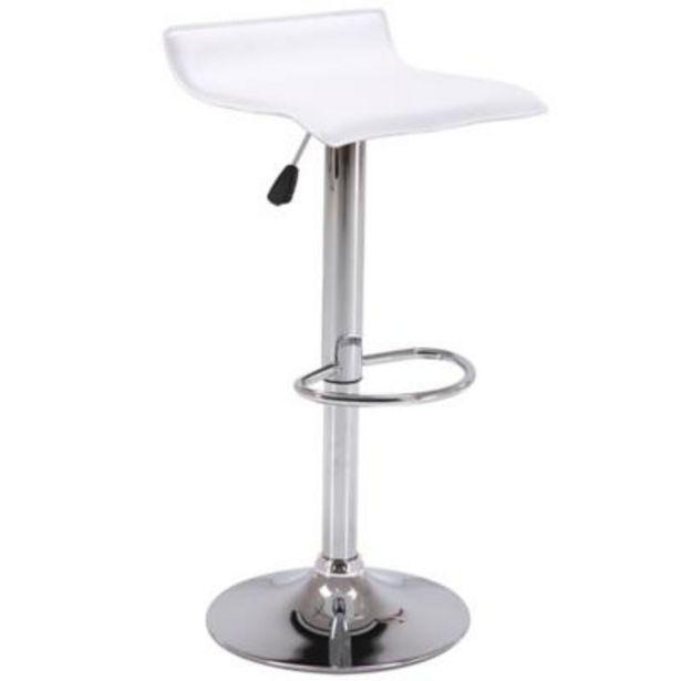 Oferta de Silla bar enzo blanca por $29990