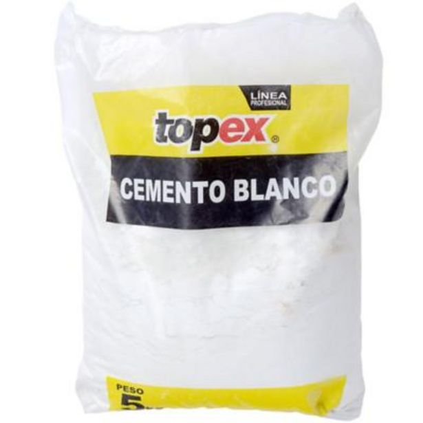 Ofertas de Cemento blanco 5 kg. por $5190