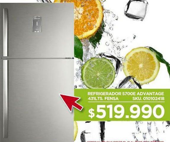 Oferta de Refrigeradores Fensa por $519990