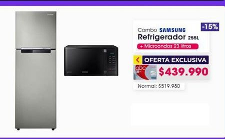 Oferta de Refrigeradores Samsung por $439990