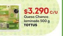 Oferta de Quesos Tottus por $3290
